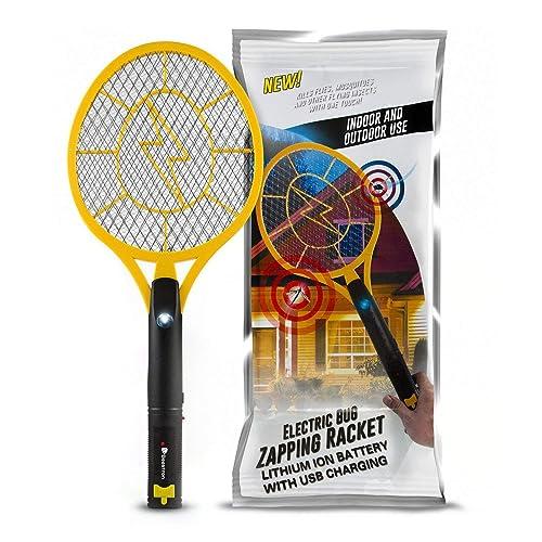 Buy Beastron Bug Zapper Electric Fly Swatter 3000V USB