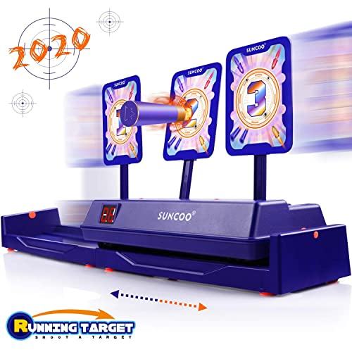 AUSUT Shooting Target Toys for Nerf Guns Electronic Auto Reset Digital Scoring Targets with Sound Effect for Nerf Guns Boy Gift