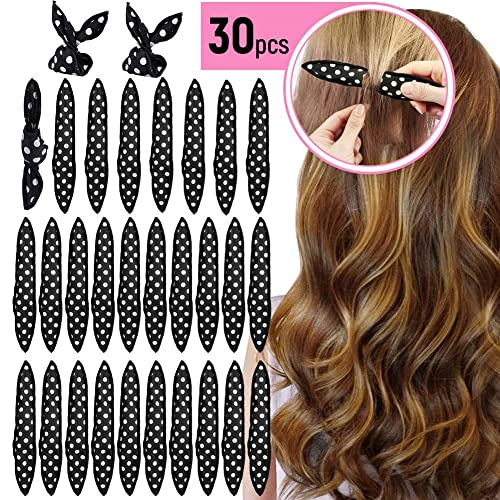 Curlers Rollers No Heat 30 Pieces Sponge Foam Hair Curlers Night Sleep Magic Soft Hair Curlers Hair Styling Tools For Diy For Long And Short Hair Buy Products Online With Ubuy