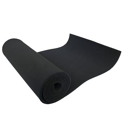 """1//8/""""x 12/"""" x 54/"""" Neoprene Sponge Foam Rubber Sheet Roll with Adhesive Foam Rubber"""