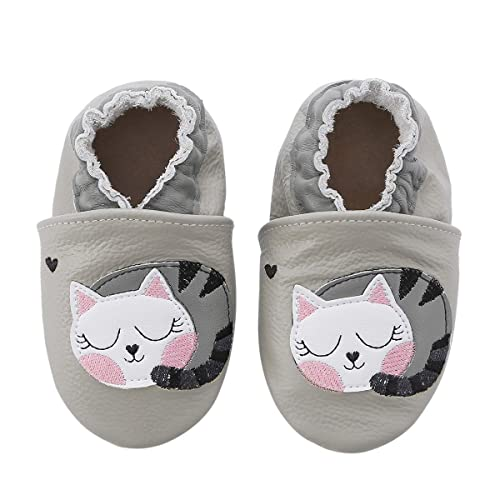 fa5bee82a9 Unicorn Baby Moccasins Girl Soft Leather Toddler First Walker Shoes 0-36  Months