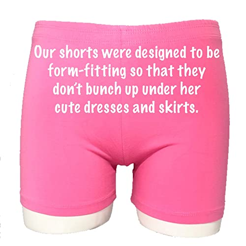 Dance and Playground Modesty Sparkle Farms Choose 3 Pack of Girls Under Dress Shorts for Bike Uniform Skirts and Jumpers