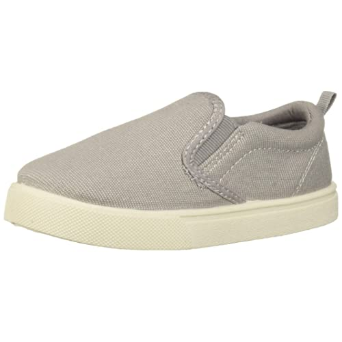 Boy/'s Toddler CARTER/'S DAMON4 Olive Green DINO Casual Slip On Sneakers Shoes NEW