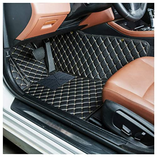 4 Pieces Black//Blue JVL 01-929BL Universal PVC Backed Carpet Car Mat Style Set