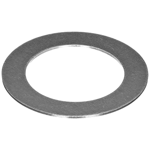 1 OD Unpolished 0.032 Thickness 5//8 ID Pack of 25 Mill Spring Temper C1074//C1095 Spring Steel Round Shim Finish ASTM A684
