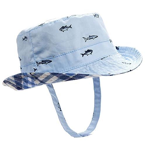 55579f9ead7863 Buy ERISO Baby Toddler Plaid Bucket Reversible Sun Protection Animal Hat  with Ubuy Kuwait. B072K1314K