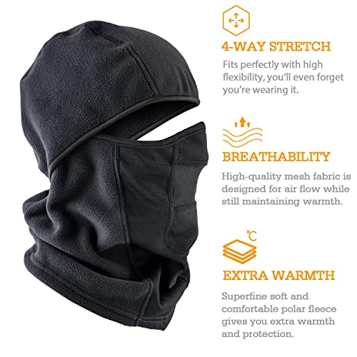 Unigear Balaclava Mask,Winter multifunctional Balaclava Full Face Mask Hat with Ergonomic Nose Decompression Design for Skiing,Cycling Snowboarding