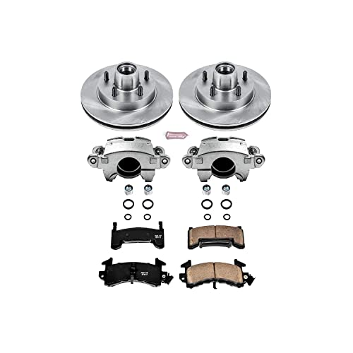 Power Stop KC696 1-Click Performance Brake Kit with Caliper Front Only