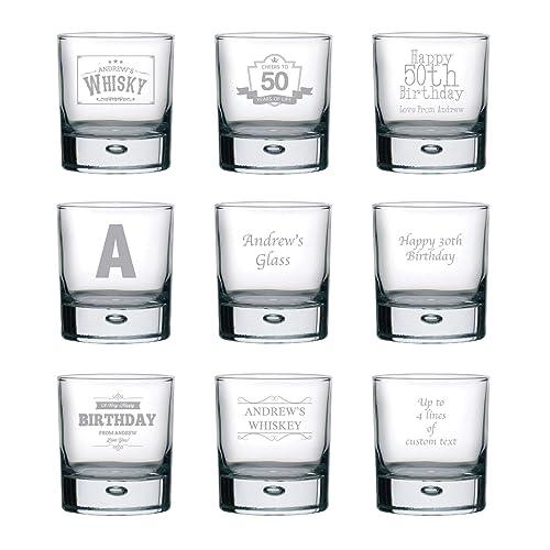 whiskey Gift Gin Lover Stones Stocking Filler Christmas Gift Personalised Gin Glass Tumbler Gift For Him Men Dad