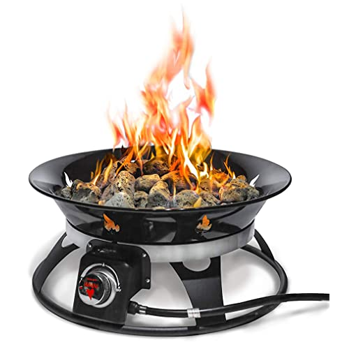 Outland Firebowl Cypress Portable Propane Fire Pit | Buy ... on Outland Firebowl 21 Inch id=20713