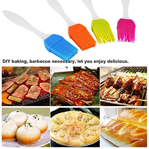 Baking Perfect for Barbecue Cooking Kitchen Utensils MEESOGA Silicone Baking Brush BBQ Basting Brush with 4 Colors Soft /& Durable Heat Resistant /& Dishwasher BPA Free Pastry Brush Kitchen Brush