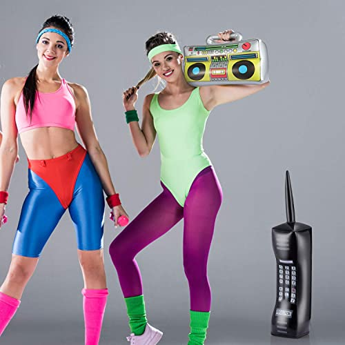 Inflatable Mobile Phone 76cm Retro Party 80/'s Theme 90/'s Fancy Dress Prop Stag