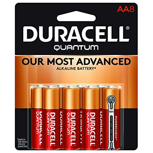 Duracell CopperTop C Alkaline Batteries with recloseable package long lasting 8 count all-purpose C battery for household and business