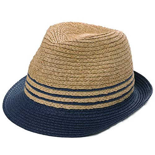 eee71c5171b Buy Womens Mens Straw Cuban Fedora Brim Panama Beach Havana Summer Sun  Derby Hat with Ubuy Kuwait. B07QVWYZH1