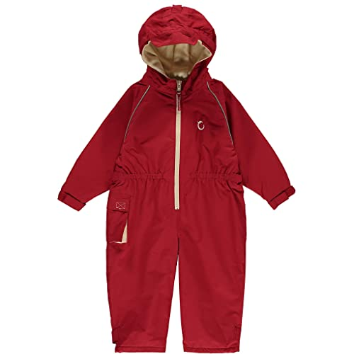 Hippychick Waterproof Fleeced Lined One Piece Coverall Essential Outdoor Clothing Snowsuit for Kids Splashsuit