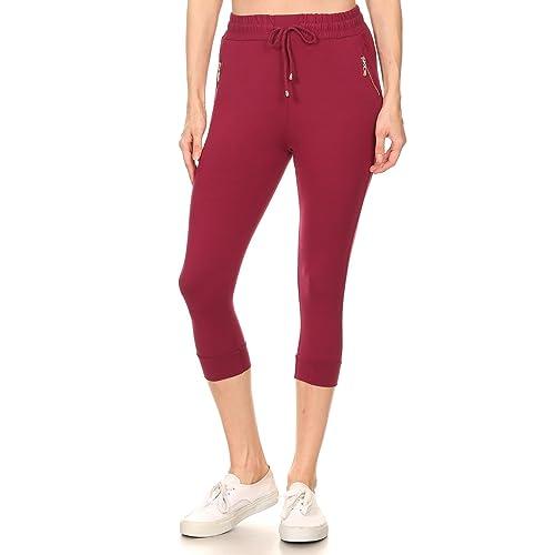 Winwinus Women Weekend Sport Pants Denim Button Cargo Pocket Romper