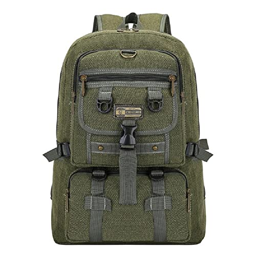 JITALFASH Nylon Outdoor Sport Tactical Backpack Camping Mens Military Bag For Cycling Hiking Style A 30-40L
