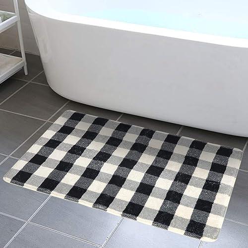 Buy Haocoo Bathroom Rugs 2 X3 Buffalo Check Velvet Bath Mat