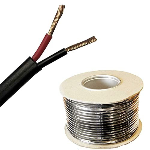 25Amp 2.0mm RED, 100 Metres MKGT AUTOMOTIVE 12V 24V SINGLE CORE THINWALL RED//BLACK CAR CABLE WIRE AUTO MARINE