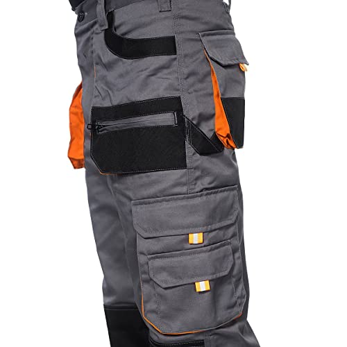 Stenso Des-Emerton/© Mens Work Cargo Trousers Pants
