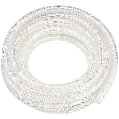 by 1//2 Inch ID Heavy Duty and Lightweight Clear Vinyl Tubing Flexible PVC Tubing Hybrid PVC Hose 10-Feet Length Hosetool