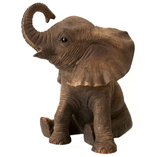 Leonardo Collection LP12862 Elephant Sitting Figurine Ornament