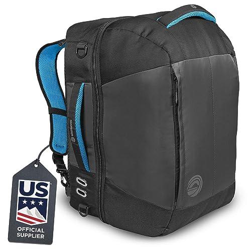 Zipline Ski Backpack Waterproof Material and Zippers Perfect for Ski Gear
