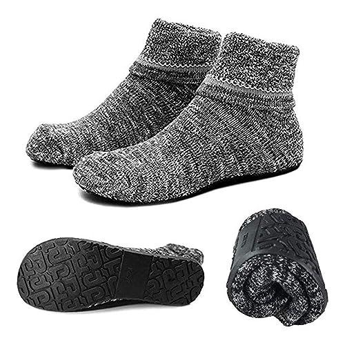 Ladies Thermal Lounge Non-Slip Gripper Slipper Socks by Jennifer Anderton