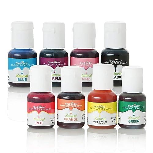 Buy Chefmaster Liqua-Gel Food Color (8-Pack) All Natural ...