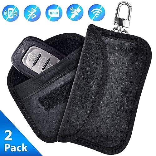 Samfolk Mini Faraday Bag Signals Blocking Pouch For Car Key Fob