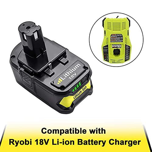 18V Li-ion Battery Charger for Ryobi RB18L40 RB18L50 RB18L13 RB18L15 RB18L25