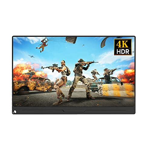 UPERFECT 4K Game Display Computer Monitor 15 6