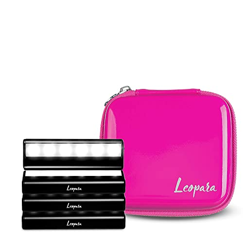 Buy Leopara Makeup Lighting System Portable Vanity Lights Professional Lighting For Any Mirror Travel Friendly Rechargeable Electric Pink Online In Kuwait B07rrc8nwq