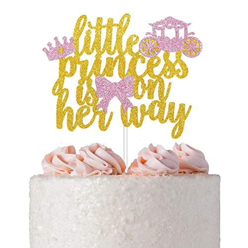 Buy Little Princess Cake Topper For Princess Theme Baby Shower