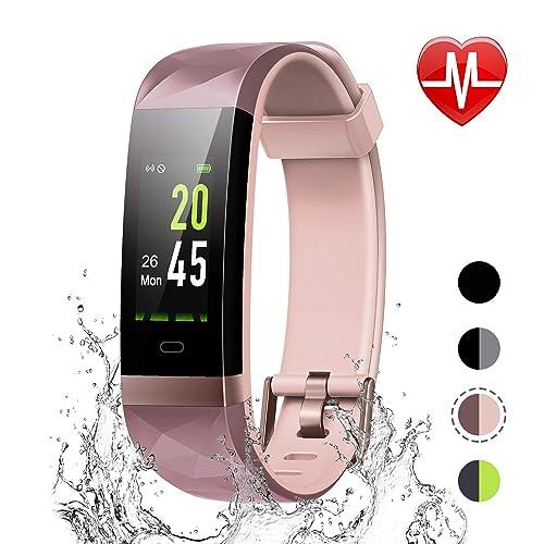 Buy LETSCOM Fitness Tracker Color Screen, IP68 Waterproof Activity
