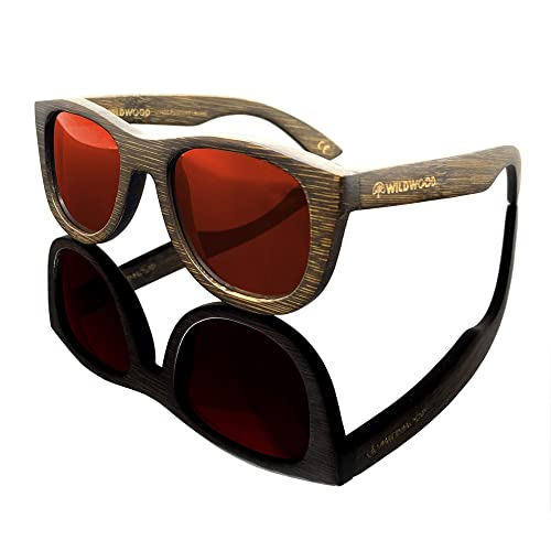 a2d9f611f441 Buy Youth Kids Bamboo Wood Sunglasses for Boys and Girls with Polarized  Lenses   5 to 12 years with Ubuy Kuwait. B07D3HL6B9