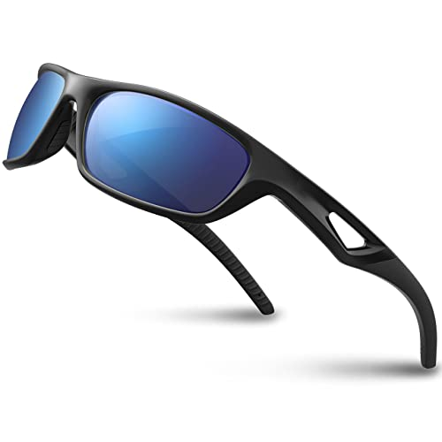 3377f736a1 Buy RIVBOS Polarized Sports Sunglasses Driving Glasses Shades for Men TR90 Unbreakable  Frame for Cycling Baseball RB831 with Ubuy Kuwait. B019MM7XUQ