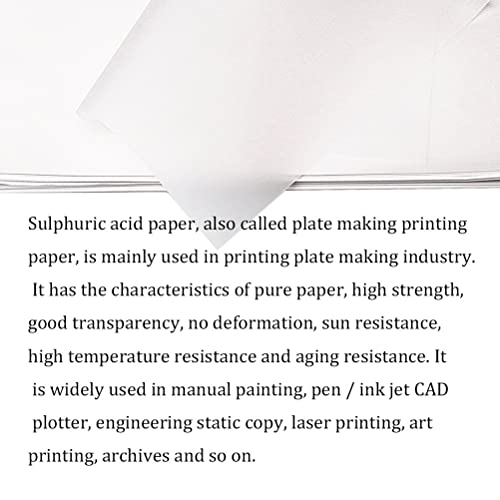 WINTEX Transparent Tracing Paper pack of 100 sheets for inkjet... DIN A4