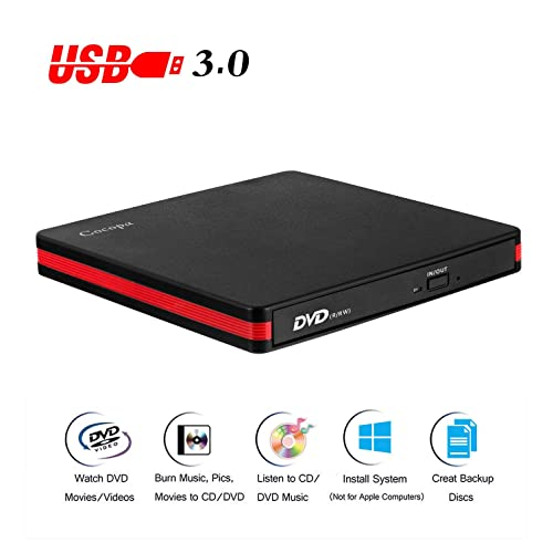 Buy Cocopa External CD DVD Drive USB 3 0 Portable CD DVD +/-