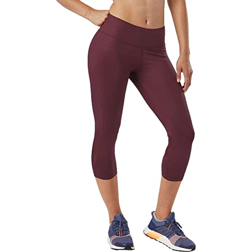 R-Gear Womens Recharge Compression 18-inch Capri Leggings with Pockets for Gym Fitness Yoga