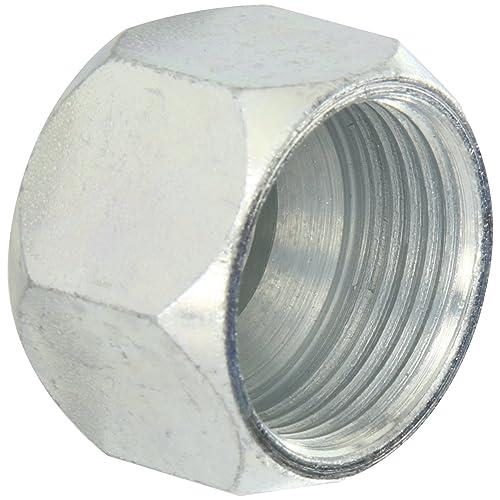 SAE 37/° JIC Female - Swivel Hydraulic Crimp Hose Fittings 472142 - GJ05-06-06: 3//8 Inner Diameter 9//16-18 Thread