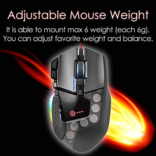 ELECOM-Japan Brand-Bluetooth//Wireless Mouse Dual Series//Hardware Macro Function//High-Speed Scroll//Ultimate Blue Sensor 8 Button//Black//M-DC01MBBK