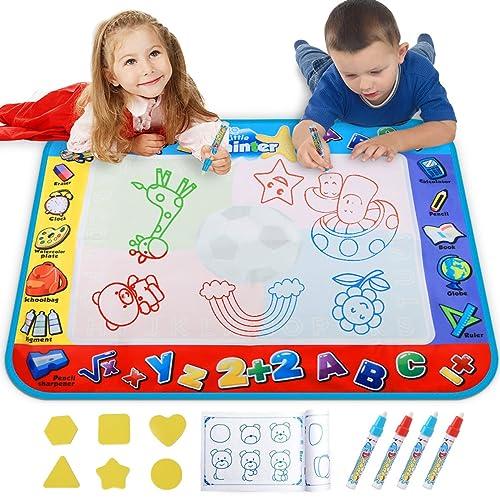 Buy Alago Water Doodle Mat,Kids Toys Large Aqua Mat,Toddlers ...