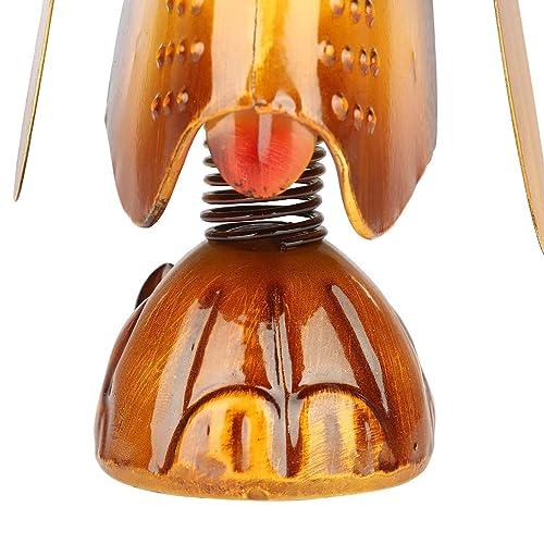 WhopperIndia Handmade Wooden Spectacle Holder Eye wear Retainer Holder Home Desk Decor 6 Inch