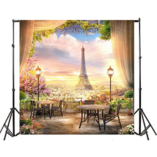 5x5FT Vinyl Photography Backdrop,Landscape,New York City Photograph Photo Background for Photo Booth Studio Props