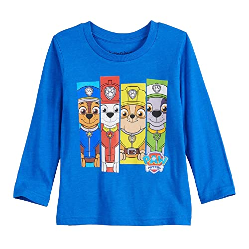Jumping Beans Toddler Boys 2T-5T Paw Patrol Panels Graphic Tee