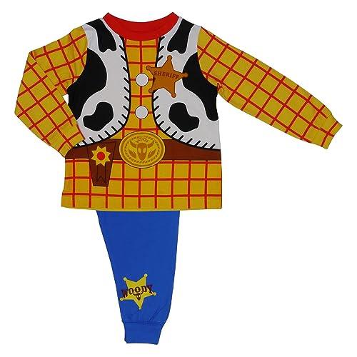 Boys Kids Toy Story Woody Novelty Pyjamas Nightwear Cotton 18 months to 6 Years