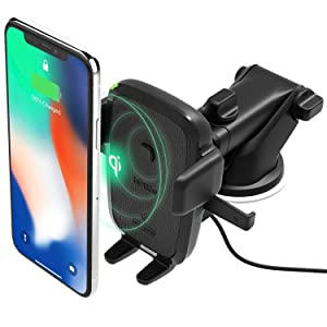 f914b77db1 iOttie Easy One Touch Qi Wireless Fast Charge Car Mount for Samsung Galaxy  S9 S9 Plus