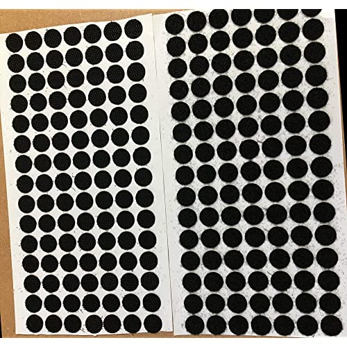 Loop 50 VELCRO® brand 13mm Dots WHITE Self Adhesive Sticky Coins Hook 50