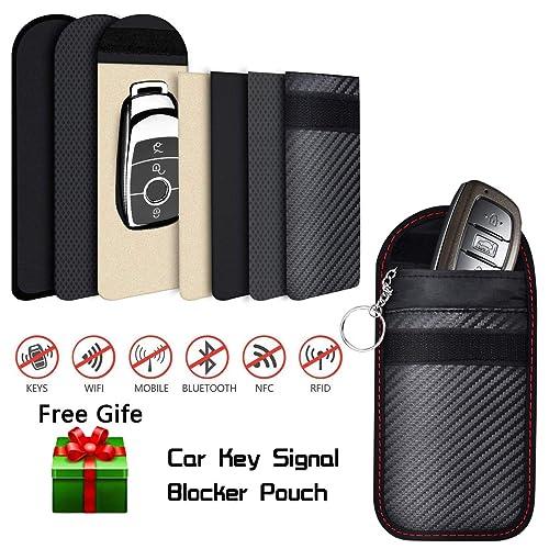 Anti-Theft Key Safe Aovaza Car Key Signal Blocker Box Faraday Box For Car Keys